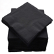 VOBAGA custom black beverage paper napkins