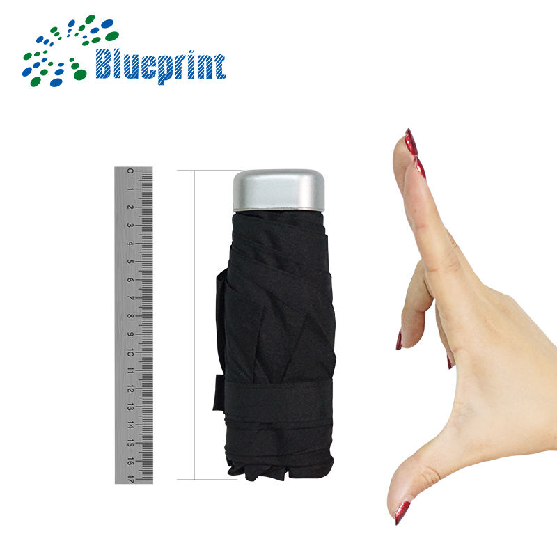 new products cheap 5 fold super mini small umbrella with case