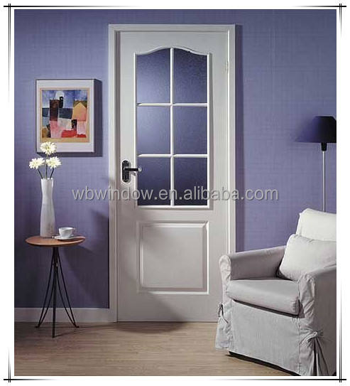 Modern house design garden swing single french door exterior hinges door