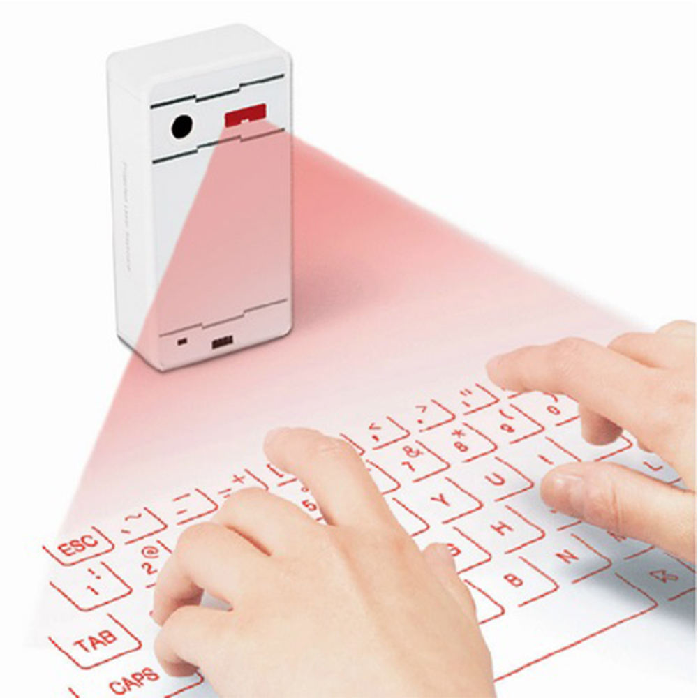 New Trend 2018 Innovation Virtual Projection Bluetooth Wireless Laser Keyboard for Iphone Ipad