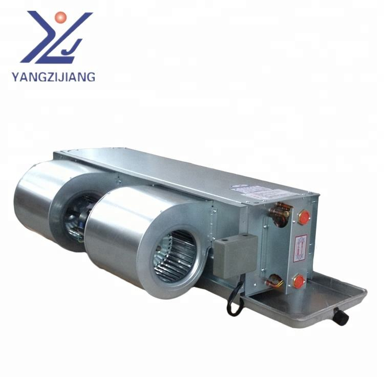 water cooling horizontal concealed fan coil unit for central air conditioner