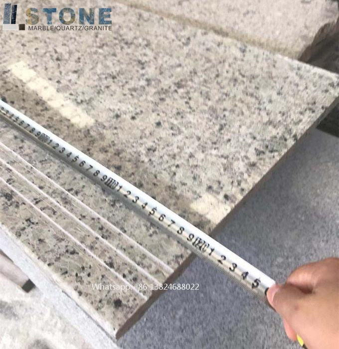 marble stairs and white stone Factory price for customized marble stair