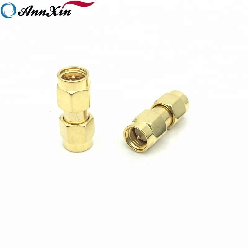 OEM RF Coaxial Adaptor SMA Male To RP SMA Male Coupler Connector Adapter