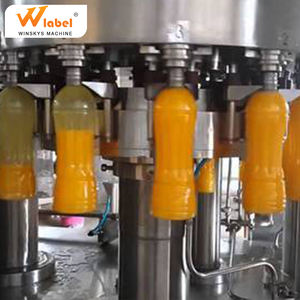 40-40-10 automatic drinking water liquid filling machine for plastic PET bottle