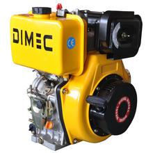 PME188F(E) manual start 1 Cylinder 4 Stroke Air Cooled Diesel Engine For Construction