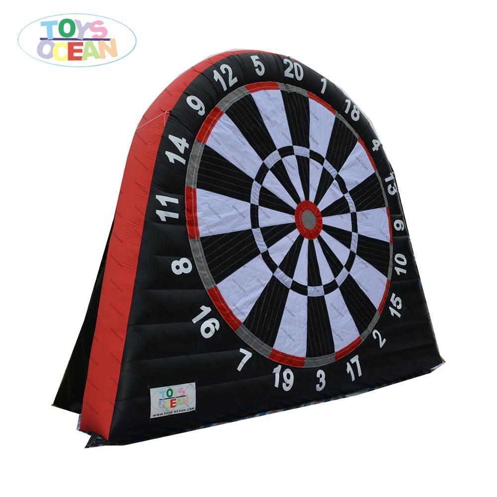 Cheap factory price inflatable dart game for adults,football darts board games,inflatable soccer darts game for sale