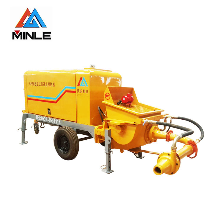 High quality SPB8 Wet concrete spraying pump Machine for hot sale