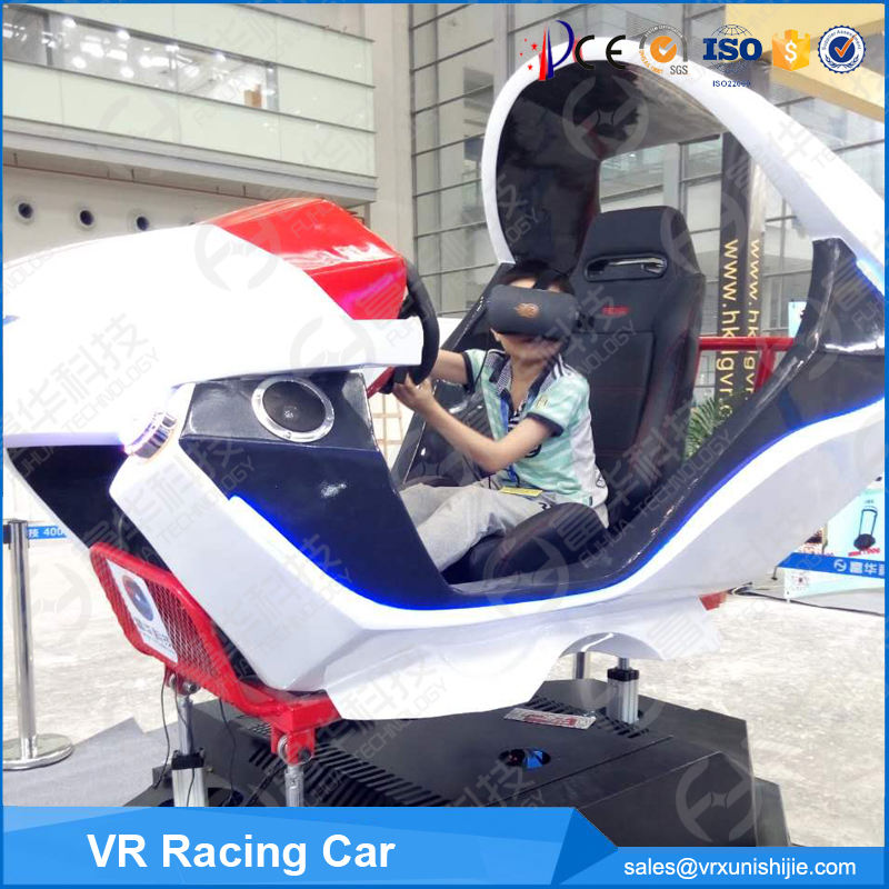 Beste Populaire Auto Simulator Game Machine Verdienen Geld Pretpark VR Real Feel Racing Auto VR Racing Simulator