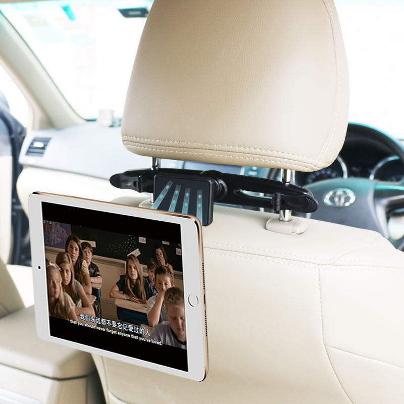 Hot selling Amazon Magnetic Tablet Holder for Car Headrest Backseat Seat Magnet Mount for iPad chinese supplier ZT01-CT
