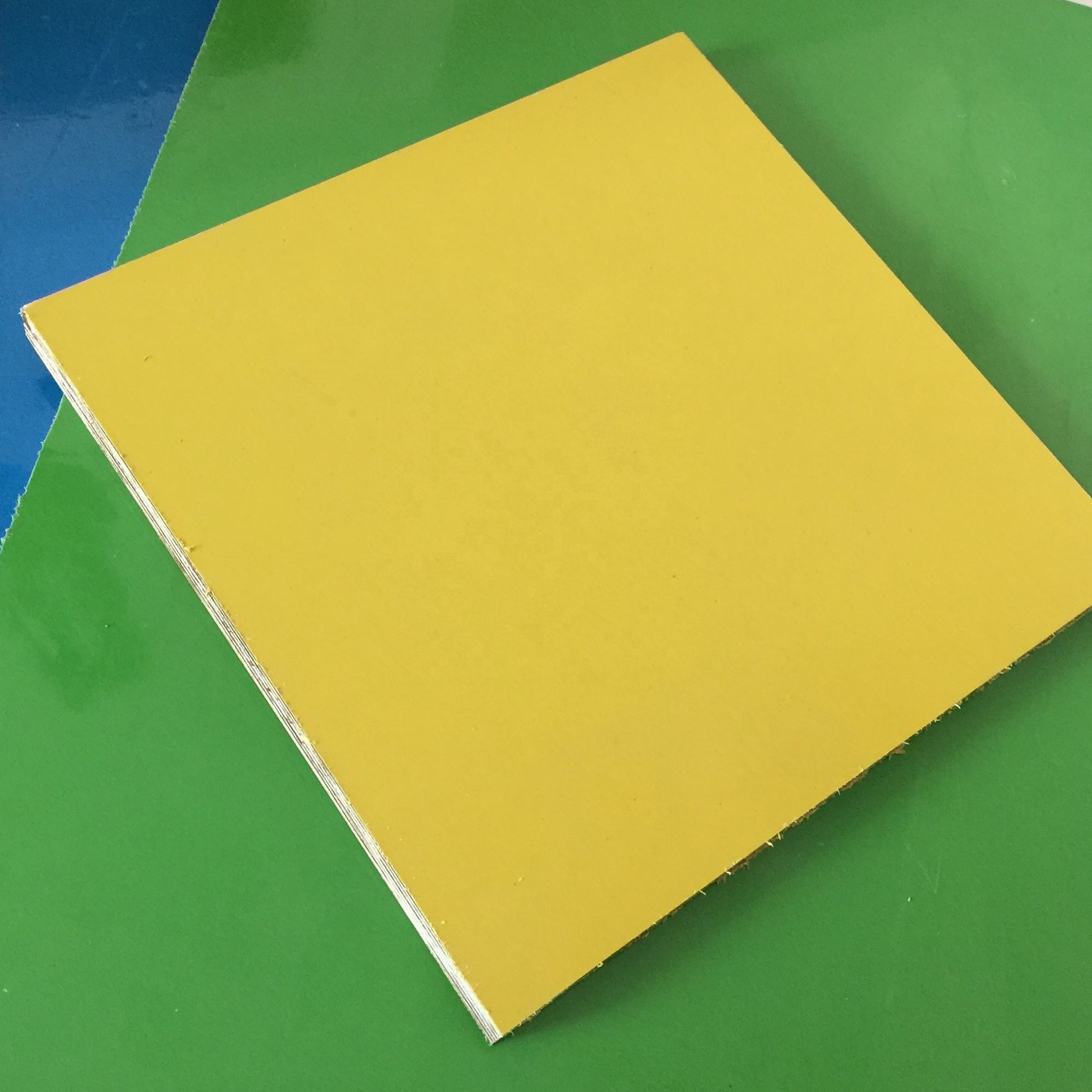 pp film faced plywood with plastic plywood edge trim