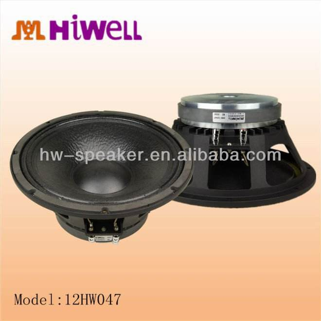 12 inch Tetap audio amplifier speaker