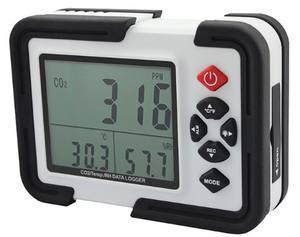 In stock HTI Xintai HT-2000 Alarm function temperature rh data logger co2 monitor