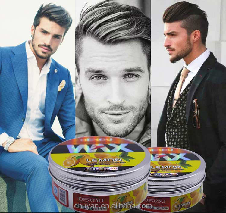 China fabrikant professionele elegantie kleur hair styling wax extreme hold citroen haar wax