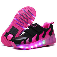 Roller skates cheap quality sports shoes boys and girls sneakers for Outdoor sports