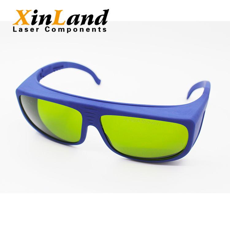 A buon mercato alla moda bifocale laser occhiali di sicurezza acrilico