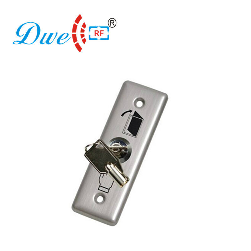 mini key switch to magnetic lock push button