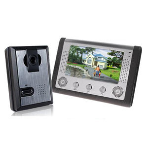 Wired 7 inch Warna Video Pintu Telepon Sistem Interkom