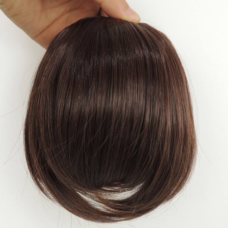 100% remy Brazilian human Front Hair Bangs Extension Clip in Bang Hair Fringe