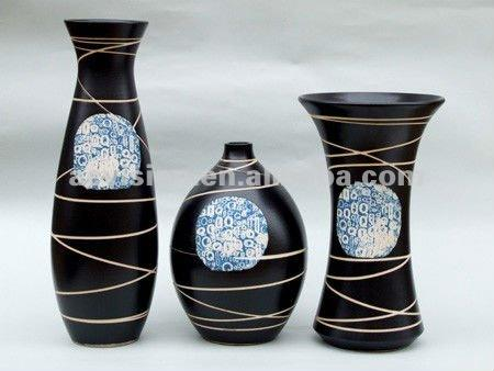 flower vases for graves, plain ceramic vase,display china flower vase factory