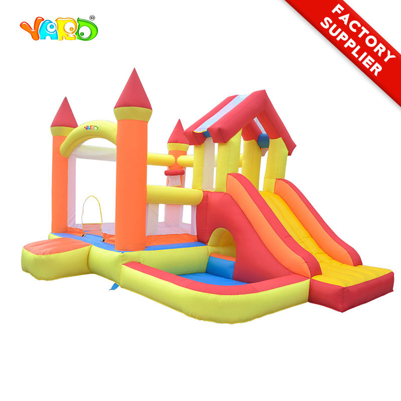 YARD Inflatable Toys Slide Residential Bounce House Outdoor Jumping Castle Bouncer