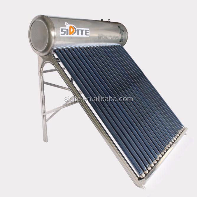 Sidite Venda Fábrica Vários Aquecimento de Água Solar Passiva Com Solar Keymark