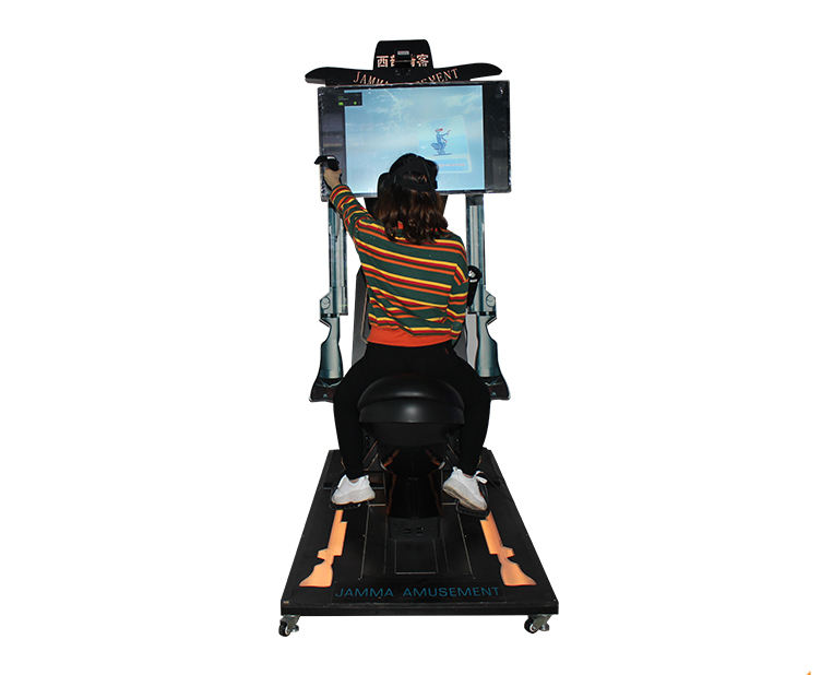 Спортивная игра реальный опыт кино Horsing езда Симулятор 9D VR лошадь гоночная игра машина