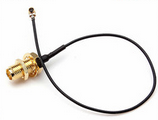 hot sale high performance free samples ufl to rp sma female sma female to ufl /ipex male adapter pigtail cable