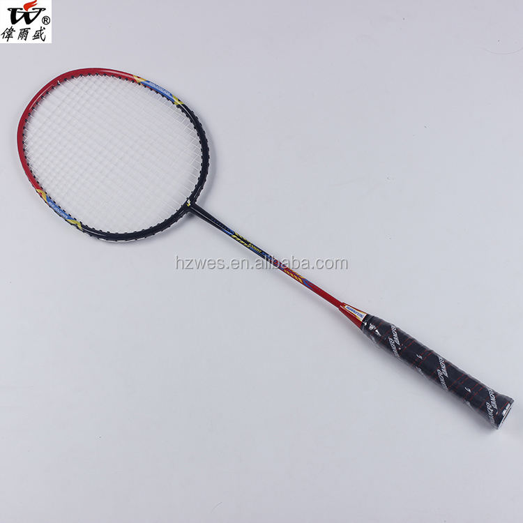 2018 New Design Professional Badminton Racket Wholesale Price Carbon Fiber