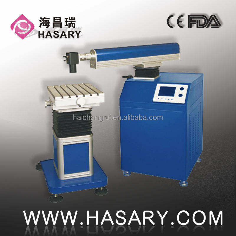Keypad control Metal/PVC YAG portable Marking Laser Machines For animal tag