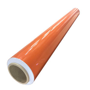 Orange Reflective Vehicle Safety Road Marking Tape