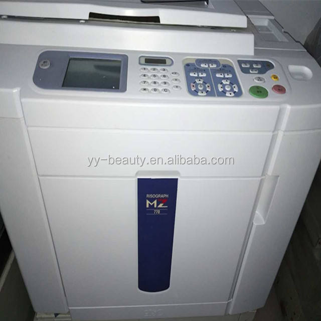 Used RISOs MZ770 two color digital duplicator
