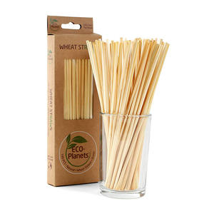 NEW ARRIVAL Food Safety Green to Earth 100% Natural Disposable Hay Wheat Straw