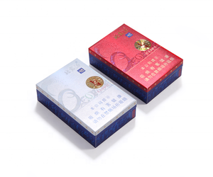 High end luxury sweet gift custom logo and shape cigarette packaging box