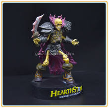 Custom collectible heroes of warcraft figure plastic collection statue factory