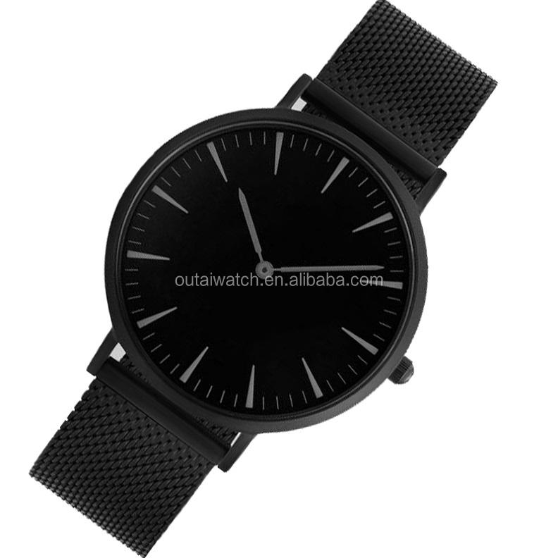 Ultra Slim Watch EC ROHS Nickel Free Watch Quartz For Mens Watch