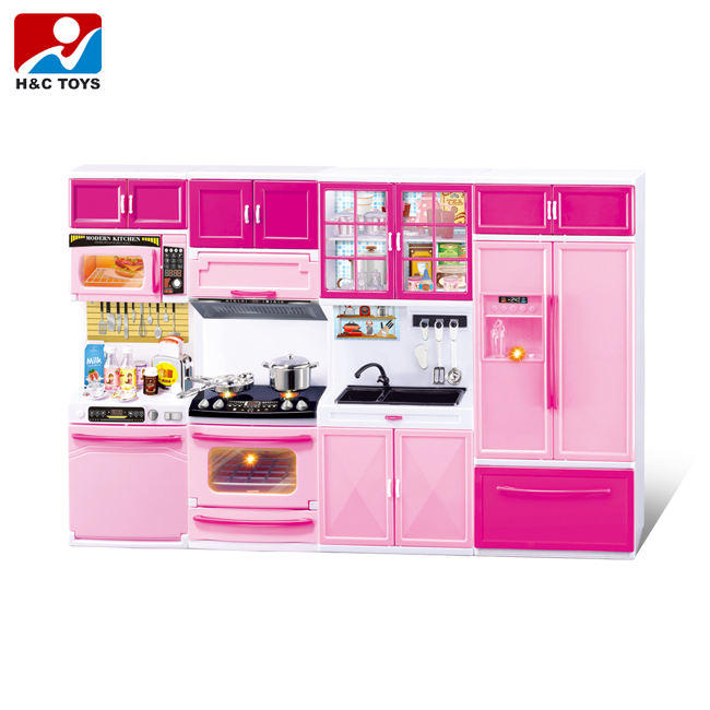 High-grade girl mini kitchen set toy with best price HC393250
