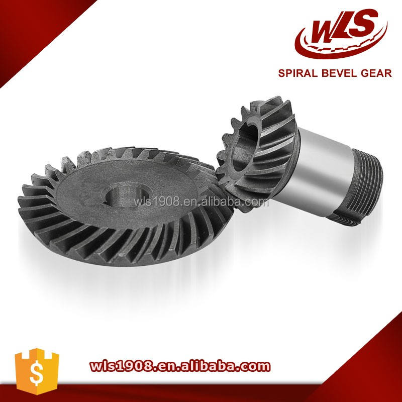 Customized lathe machined steel pinion gears for DC motor