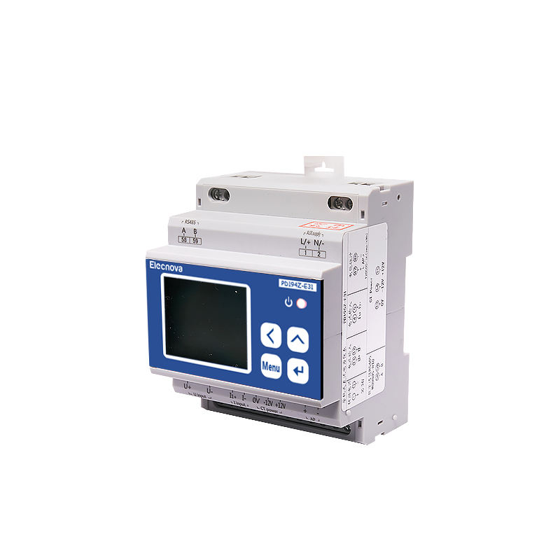 Elecnova PD195Z-E31 DC industrial control system Din rail installation RS485 data monitoring analyzer digital power meter