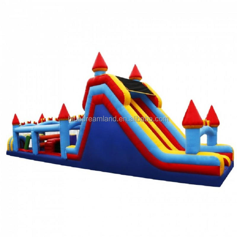 Team building Multifunctional Deluxe interactive inflatable obstacle course event party sports game