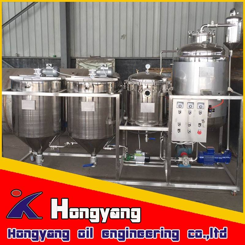 Machine to refine sunflower oil /cooking sunflower oil refineries.