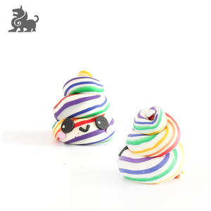 Custom small colorful design resin figure toy for kids
