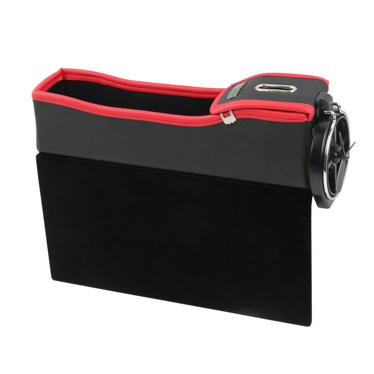 Consolle auto Sede Gap Filler Pocket Organizer con il supporto di tazza
