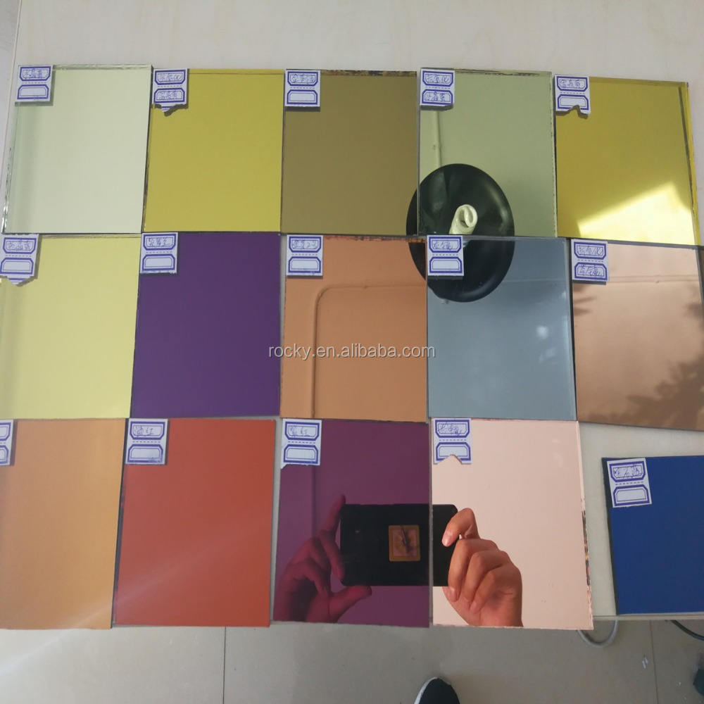 sell 4 5 6mm colored mirror glass high quality mirror