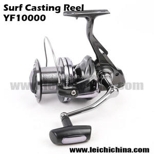 In stock graphite surf casting fishing reel 10000