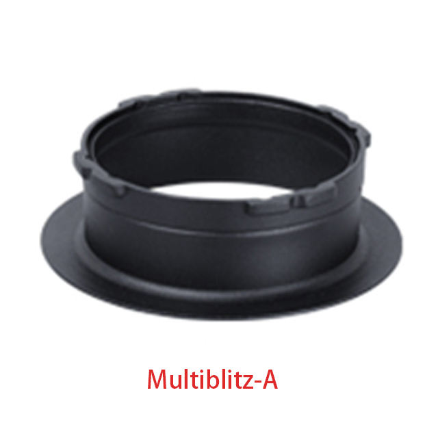 Photographic equipment Multiblitz-A softbox mount adapter ring 144mm Reflector