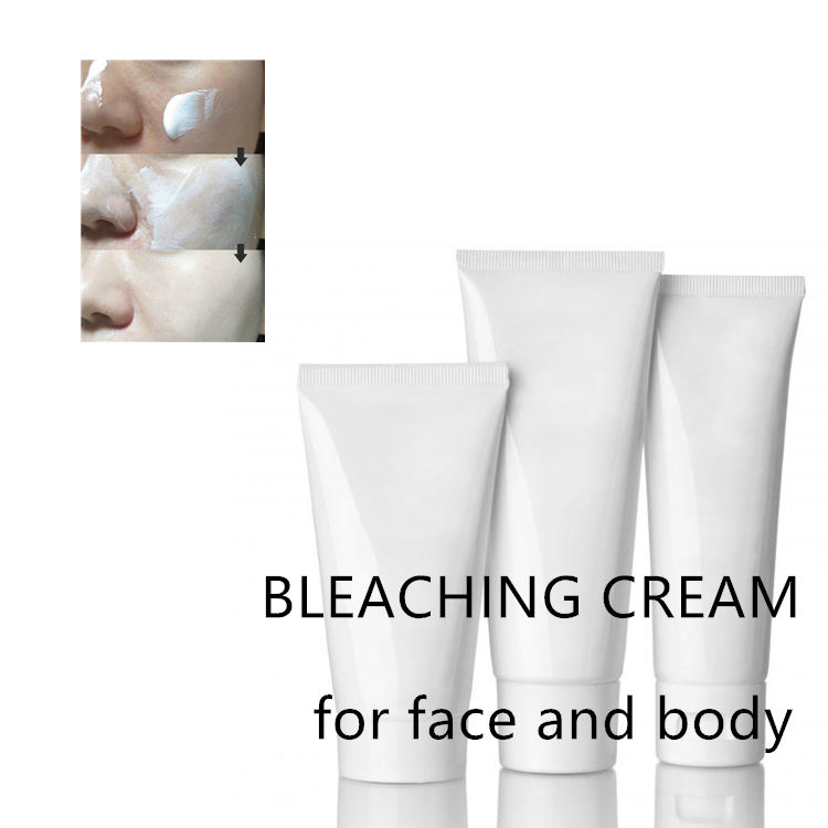 CE Certification and Body Use formula bleaching cream black skin whitening cream private label