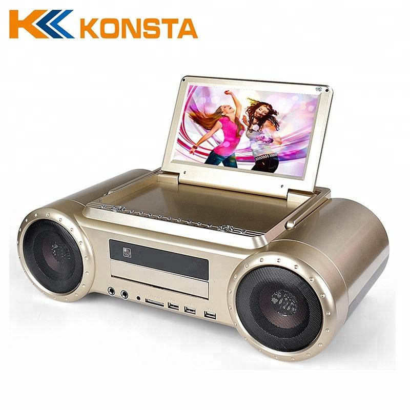 LEADSTAR Panel LCD Vcd Player Dvd Player Karaoke Máy Đồng Xu