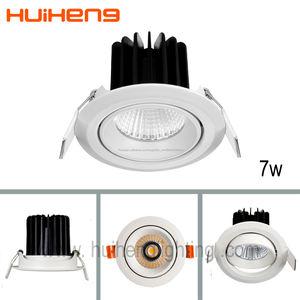 Лучшие продажи мини-свет 7 Вт энергосберегающие светодиодные пятна вниз освещения