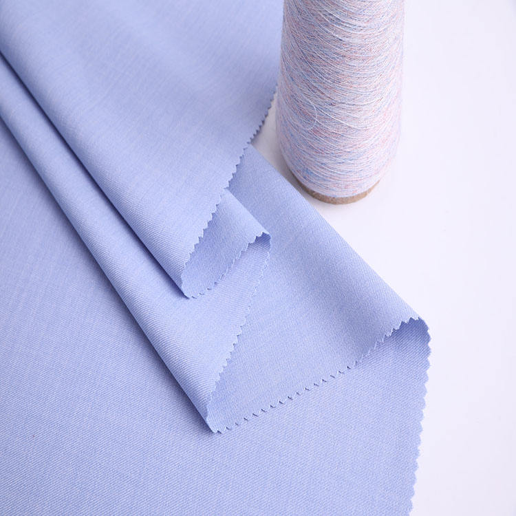 Shaoxing manufacturers hot selling 100% polyester cool dry men's woven different types of fabric