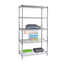 RD 5 layers adjustable wire shelf with divider  chrome accessories wire rack folding wire shelving